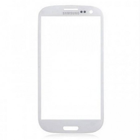 cristal Samsung Galaxy S4 I9500 I9505 en color blanco