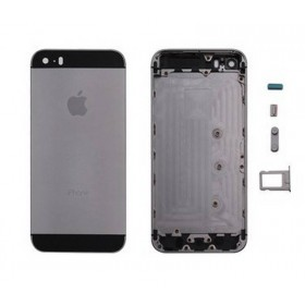 tapa carcasa trasera para iphone 5s color Negro