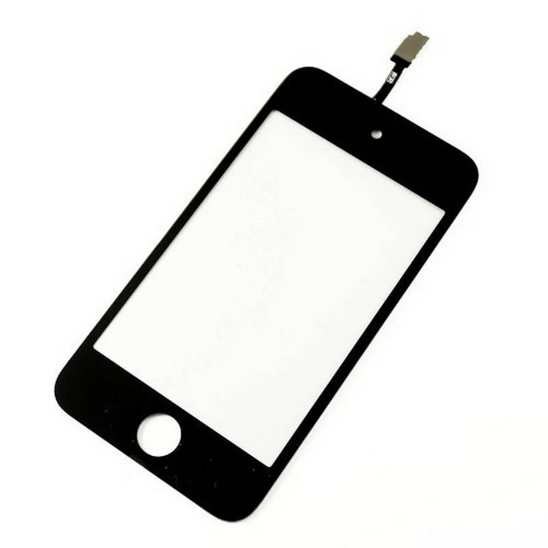 cristal tactil digitalizador para ipod touch 4 generacio en color negro