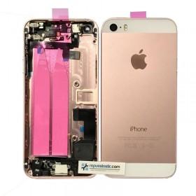 Carcaça traseira completa em cor ouro rosado iphone 5s