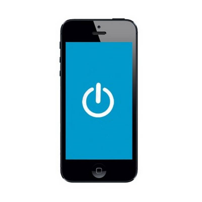 sustituion boton de enendido iphone 5 5s 5c