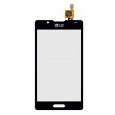 Ecrã tactil preta para LG Optimus L7 2, P710