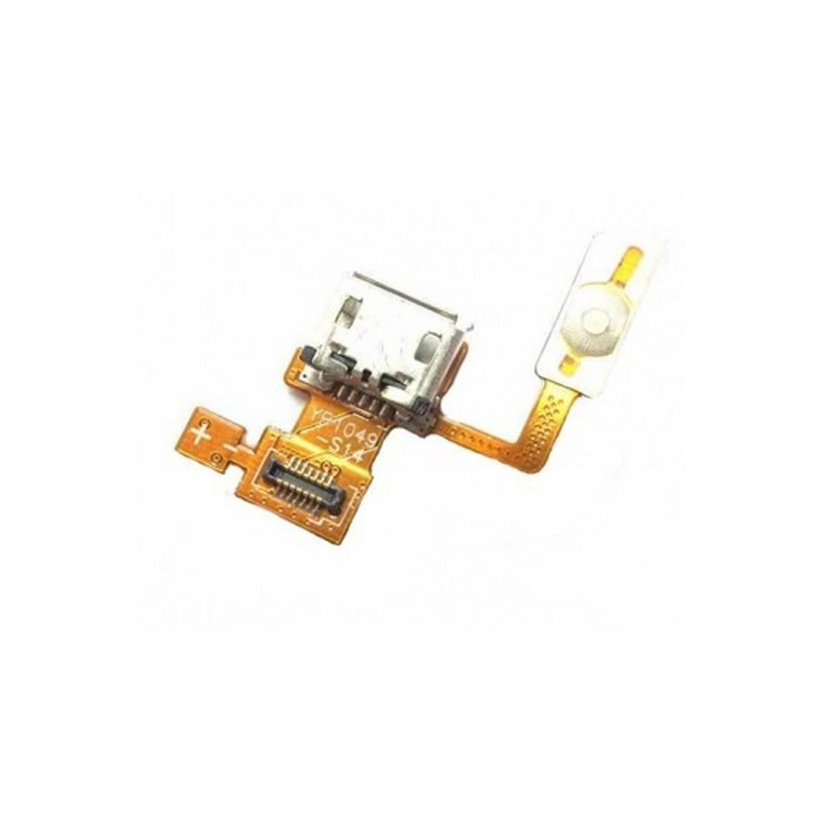 conector de carga con flex lg p970 optimus black