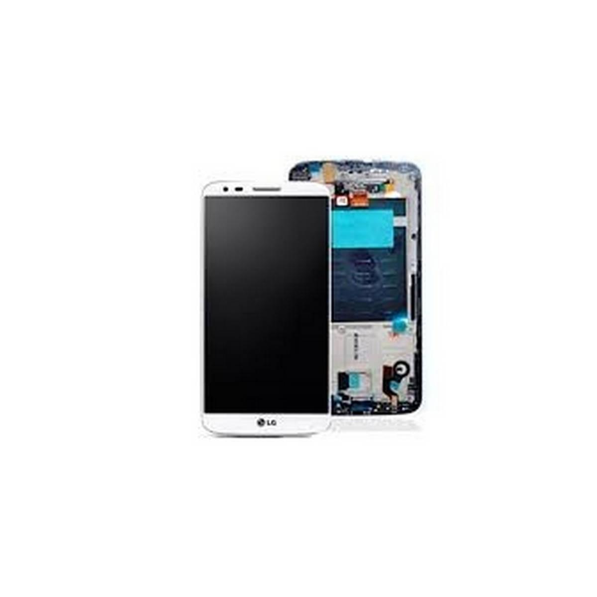 Ecrã completa para lg Optimus G2 D802 E940 com marco cor branca