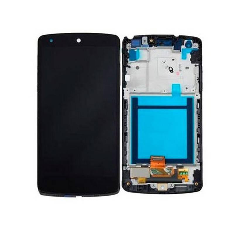 Pantalla Completa Con Marco Negra LG Nexus 5 D820