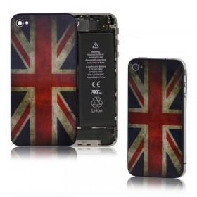 tapa bandera inglaterra para iphone 4