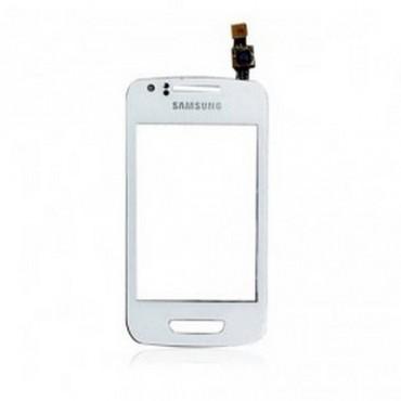 Pantalla tactil digitalizador Samsung WAVE y S5380 blanco