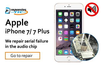 We repair audio / sound chip iphone 7/7 Plus