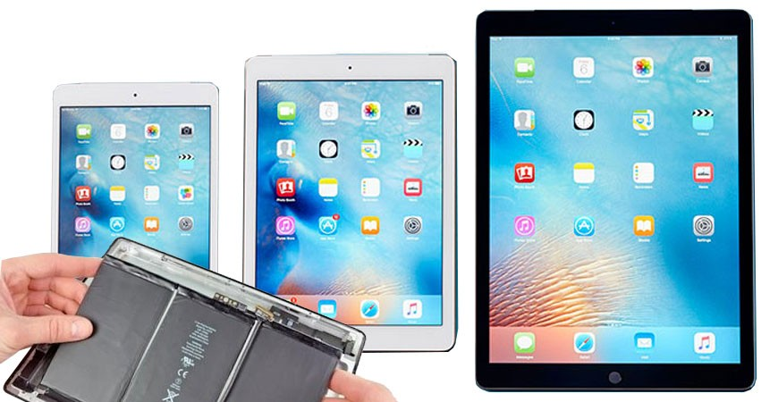 Batteries for Ipad all models, complete guide